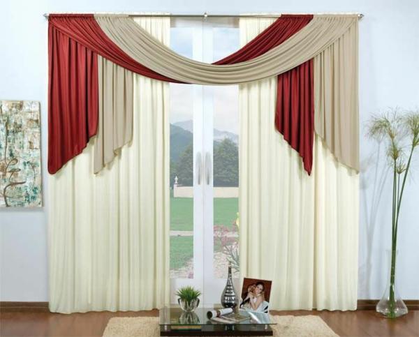 Rollos Gardinen Vorh Nge 35 rote gardinen für königliche eleganz in ihrem wohnzimmer