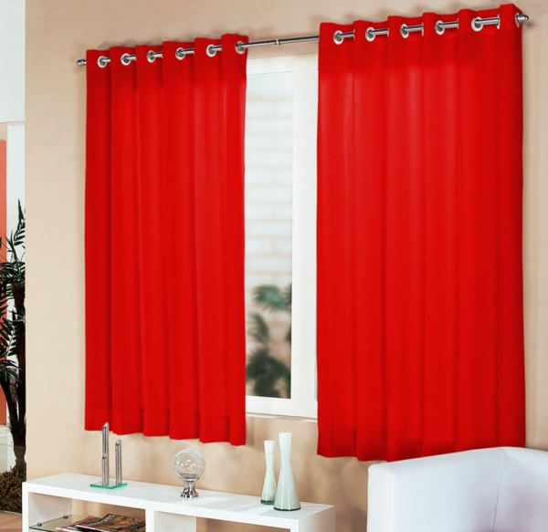 Rote Gardinen. rote gardinen. dachschrge vorhang dachschrge vorhang ...
