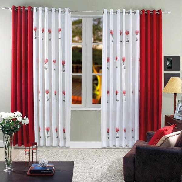 Modern curtains for living room - Wollen Sie Eine Verspielte Herangehensweise Mit Der Rot Wei 223 En