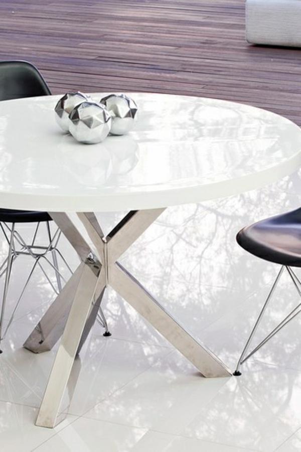 70 runde esstische, die jede küche total transformieren können, Esstisch ideennn