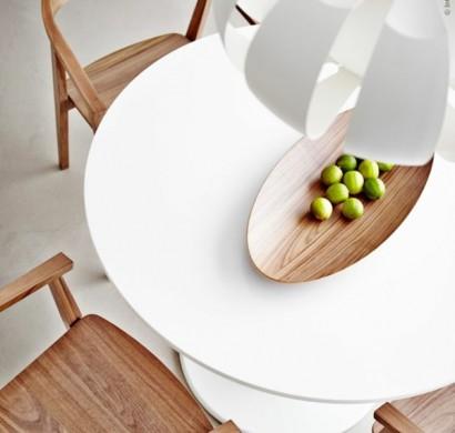 Runde Esstische Massivholz 70 runde esstische die jede küche total transformieren können