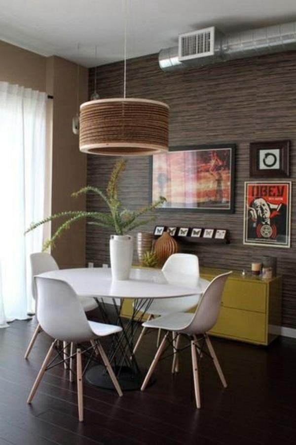 Esstisch Stühle Modern Weiß | rheumri.com