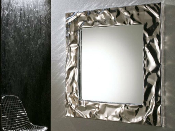 Spiegelwand klassisch quadrat kaufen glanz