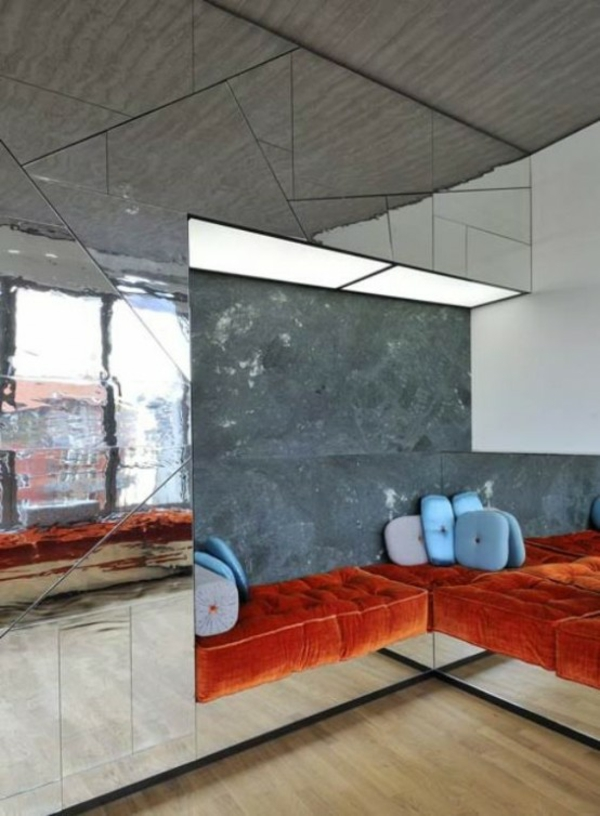 Spiegelwand formen dreiecke kaufen auflagen sofas
