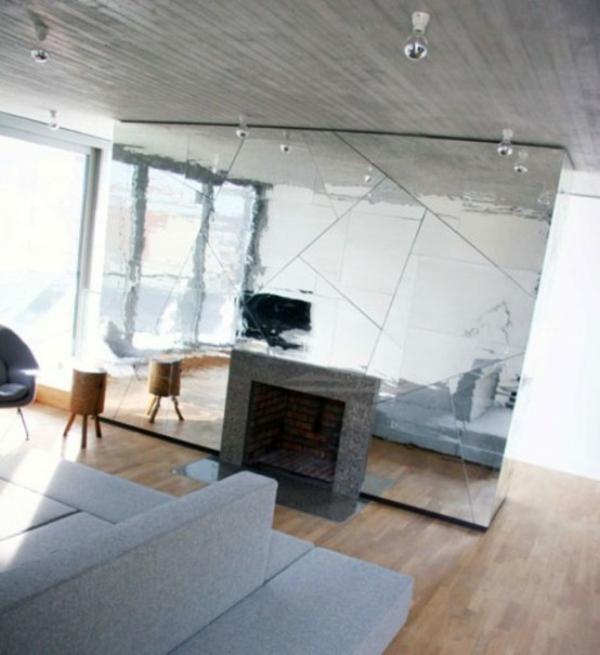 Spiegelwand reflektieren raumteiler kaufen sofas möbel