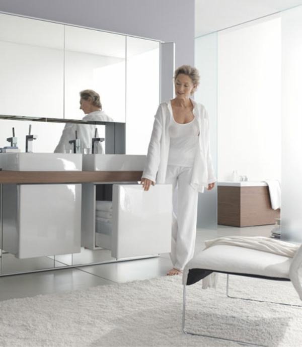 Spiegelwand funktionell  kaufen weiß einrichtung