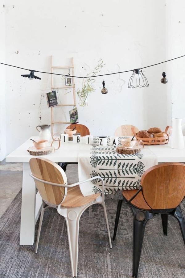 Stühle für Esstisch holz modern deko