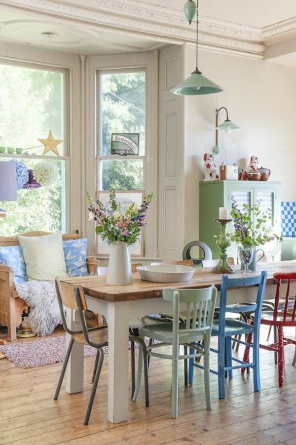 Stühle für Esstisch holz modern gemütlich einrichtung