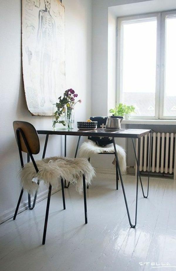 Stühle für Esstisch holz modern kompakt