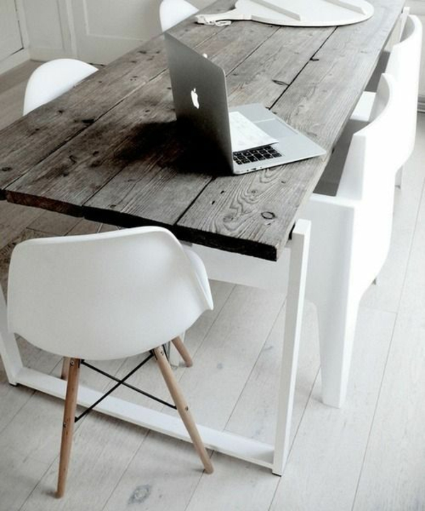 Stühle für Esstisch holz modern laptop
