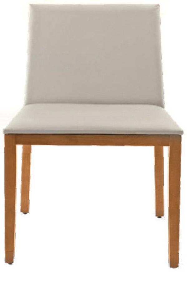 Stühle hell farben Esstisch holz modern polsterung