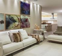 Teppich in Crème – Die Pastellfarben herrschen zu Hause