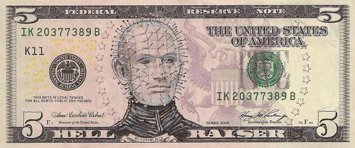 Us Dollar Banknoten dollar scheine fünf dollar