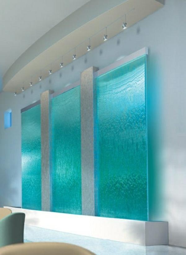 30 Frische Farbideen Für Wandfarbe In Türkis Wandgestaltung Wohnzimmer Grau Turkis
