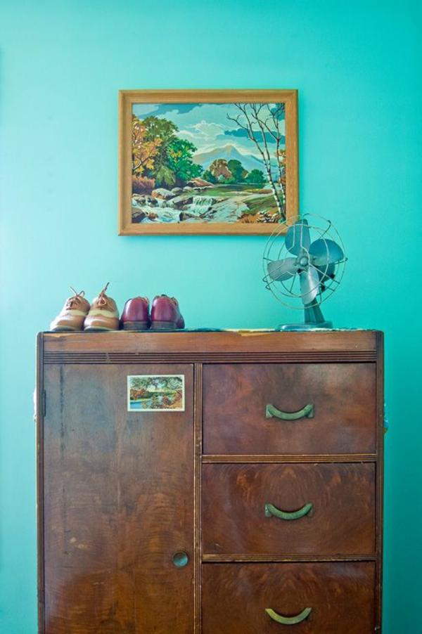 30 frische farbideen f r wandfarbe in t rkis. Black Bedroom Furniture Sets. Home Design Ideas