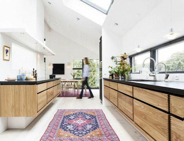 Waschbare Küchenteppiche und Läufer dachfenster