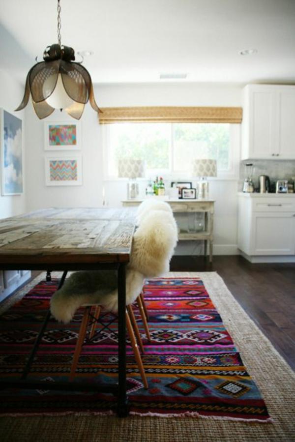Küchenteppiche und Läufer dunkel