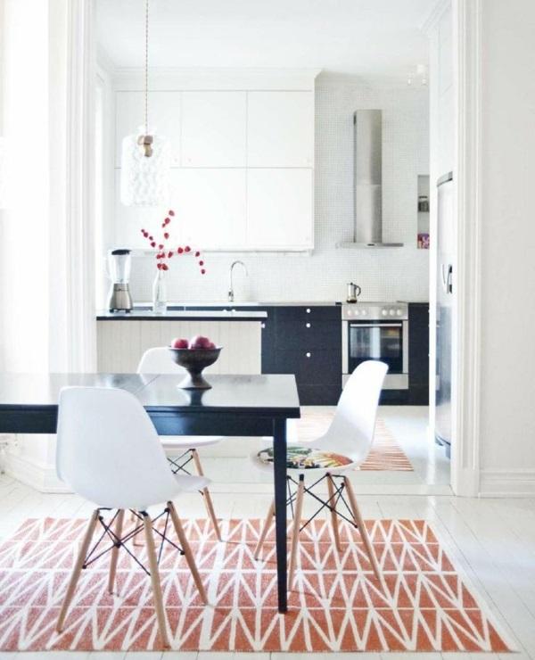 Waschbare Küchenteppiche und Läufer esstisch
