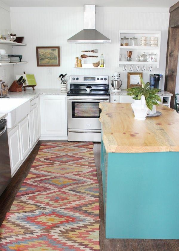 Läufer küchenarbeitsplatte waschbare Küchenteppiche