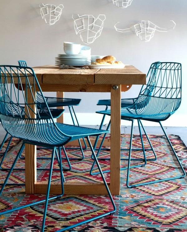 holz metall figuren wand Küchenteppiche Läufer metall stühle