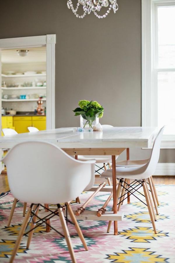 Waschbare Küchenteppiche und Läufer modern