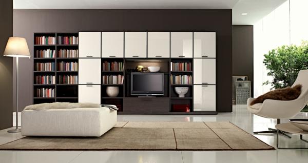 wohnlandschaft in braun und grau schafft einen maskulinen look. Black Bedroom Furniture Sets. Home Design Ideas