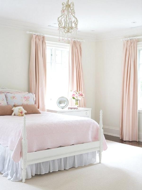 gardinen rosa - die romantischen farbnuancen schlechthin!, Schlafzimmer