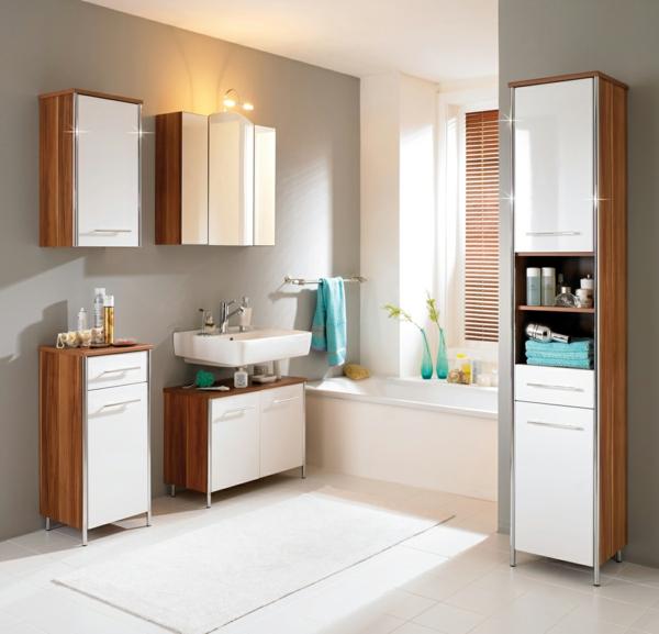 badezimmer möbel wandfarbe badezimmer grau weiß