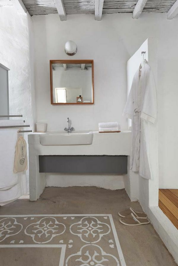 Badteppiche lassen ihr bad gem tlicher und einladender wirken for Boden landhausstil