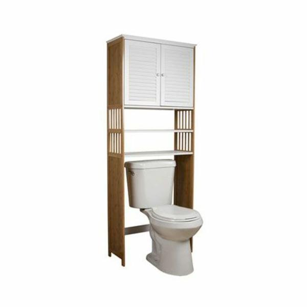 bambus badmöbel asiatischer stil kleines bad einrichten