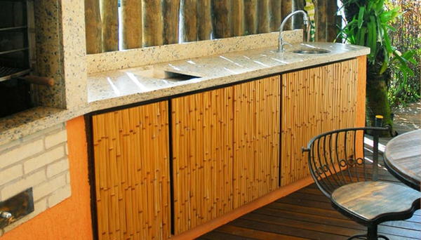 bambus badmöbel küchenmöbel unterschränke türen küchenfronten austauschen