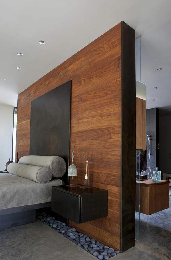 30 ideen f r bett kopfteil m rchenhafte und kunstvolle beispiele. Black Bedroom Furniture Sets. Home Design Ideas