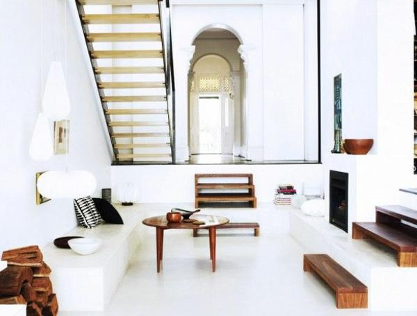 couchtisch holz runde ecken. Black Bedroom Furniture Sets. Home Design Ideas