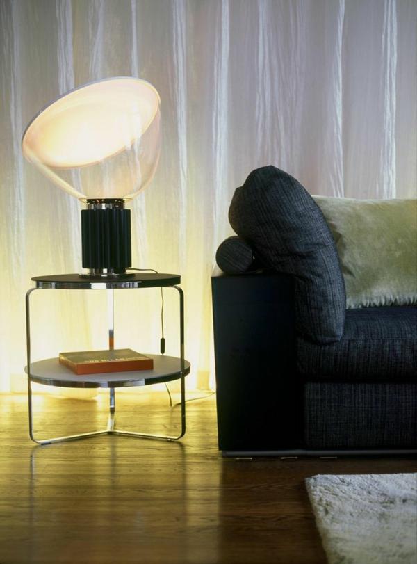 wohnzimmer modern:couchtisch rund metall stehlampe wohnzimmer modern ...