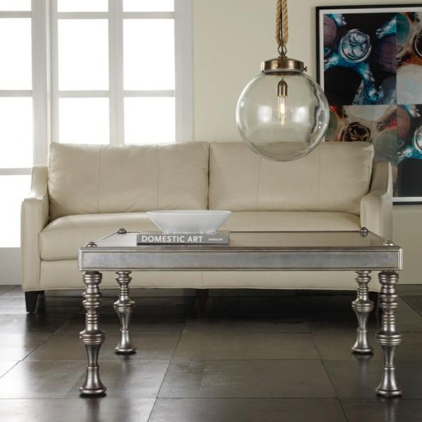 33 couchtische und beistelltische in silber. Black Bedroom Furniture Sets. Home Design Ideas