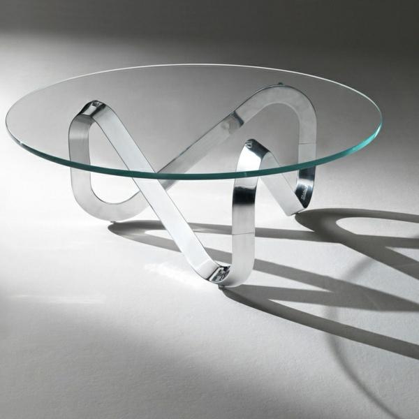 Beistelltische In Silber Tischplatte Tischbeine