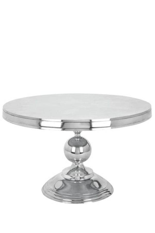 beistelltische couchtische silber tischplatte