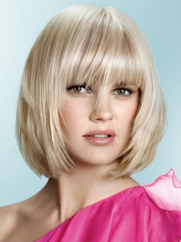 damen frisuren modern 2013 ideen kurze haare glatt