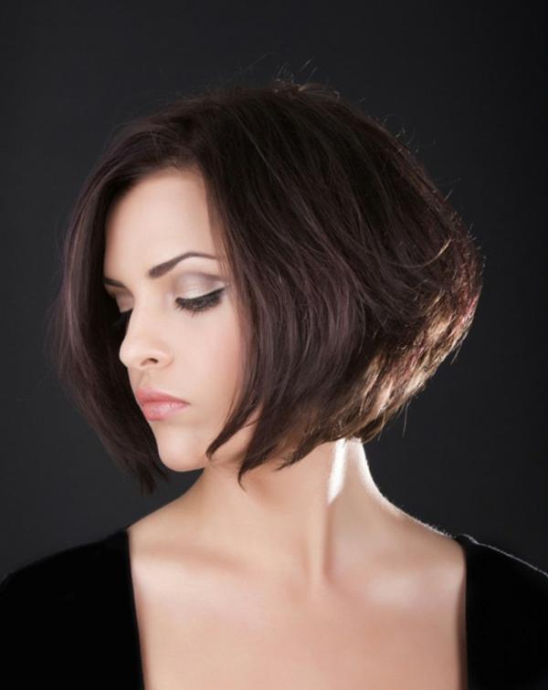 damen frisuren modern 2013 ideen kurze haare linie