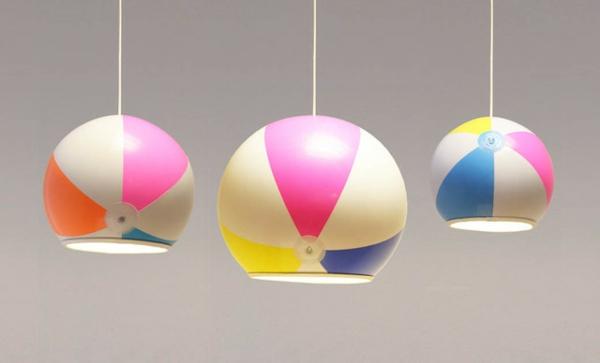 design leuchten kugel pendelleuchte strandball lampenschirm pendelleuchten esszimmer