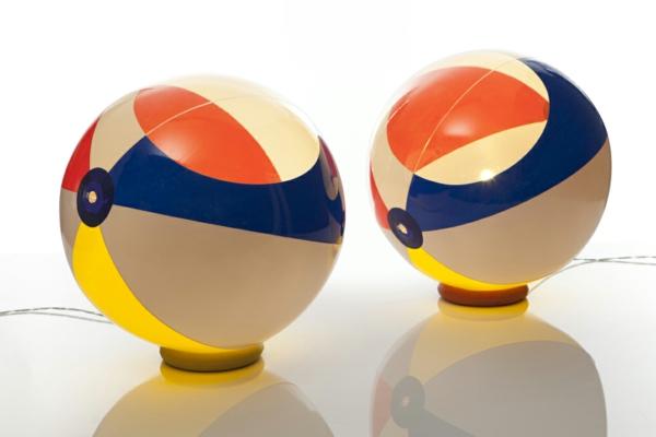 design leuchten standleuchten kugel pendelleuchte strandball stehlampe bodenlampe