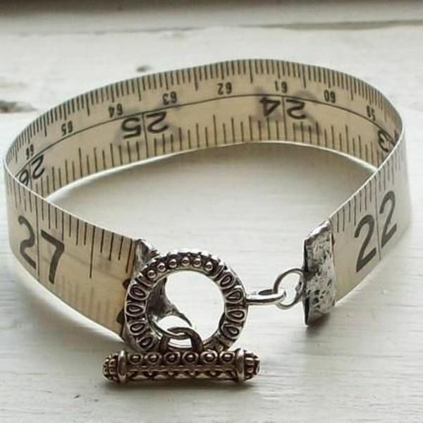 diy wohnideen deko ideen wohnzimmer maßband armband diy schmuck