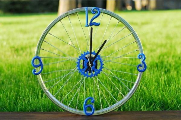 diy wohnideen fahrrad diy möbel uhr wohnideen selber machen