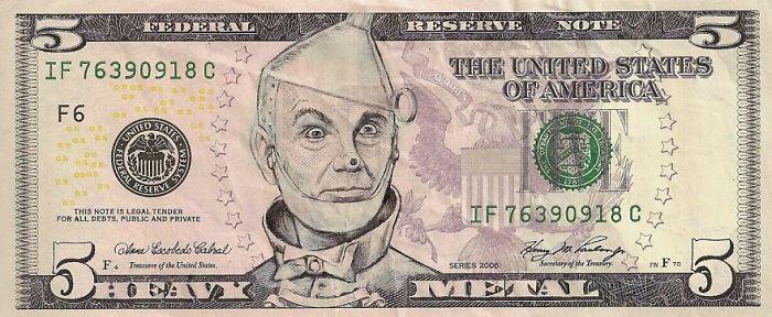 dollar banknoten dollar scheine tinman gesicht us euro in dollar umrechnen