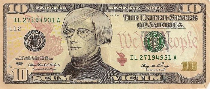 dollar scheine andy warhol gesicht us euro in dollar umrechnen