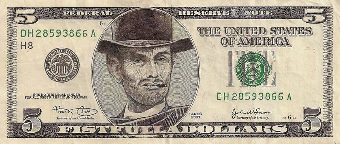dollar scheine clint eastwood gesicht us euro in dollar umrechnen