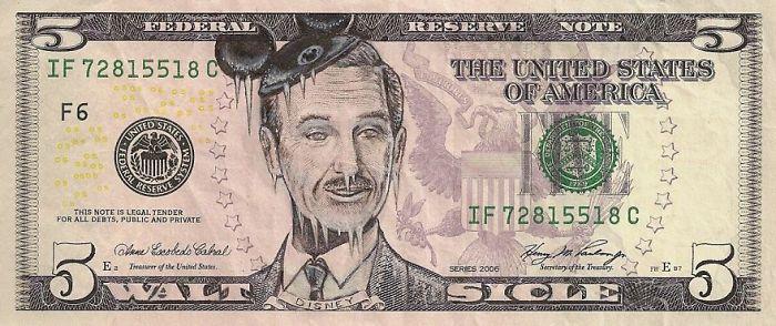 dollar scheine walt disney gesicht us dollar in euro umrechnen
