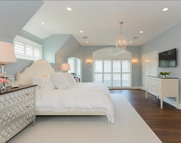 wandfarbe blau grau schlafzimmer ~ Übersicht traum schlafzimmer - Wandfarbe Blau Grau