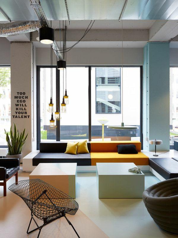 einrichtungsideen metall sessel wohnzimmer möbel modern trendy geometrisch
