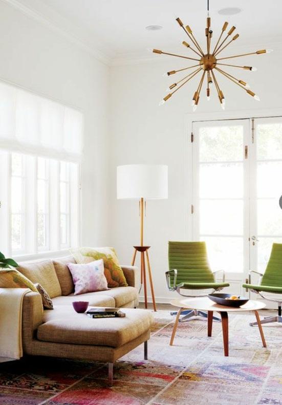 Möbel Modern Trendy Einrichtungsideen Wohnzimmer Stühle